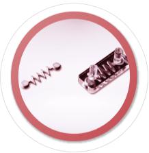 3.形状 機械加工不可能な形状を量産生産